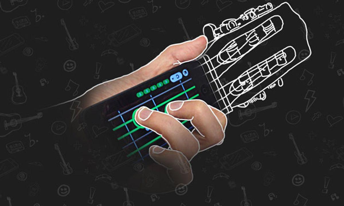 Musopia Launches ChordShaker Pocket Guitar iOS App