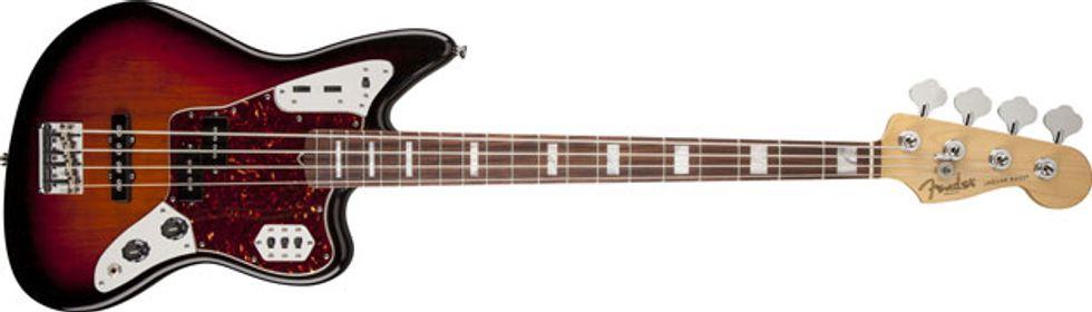 fender releases american standard jaguar bass 2014 06 11 premier guitar. Black Bedroom Furniture Sets. Home Design Ideas