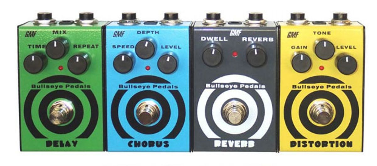 GMF Music Unveils Four New Bullseye Pedals