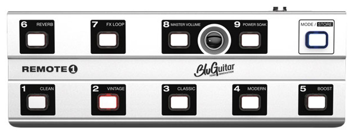 BluGuitar Unveils the Remote1