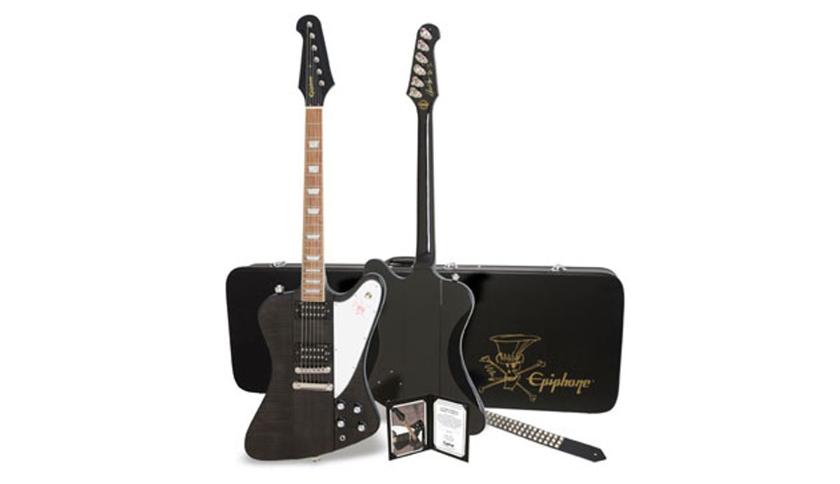 Epiphone and Slash Team Up for New Firebirds