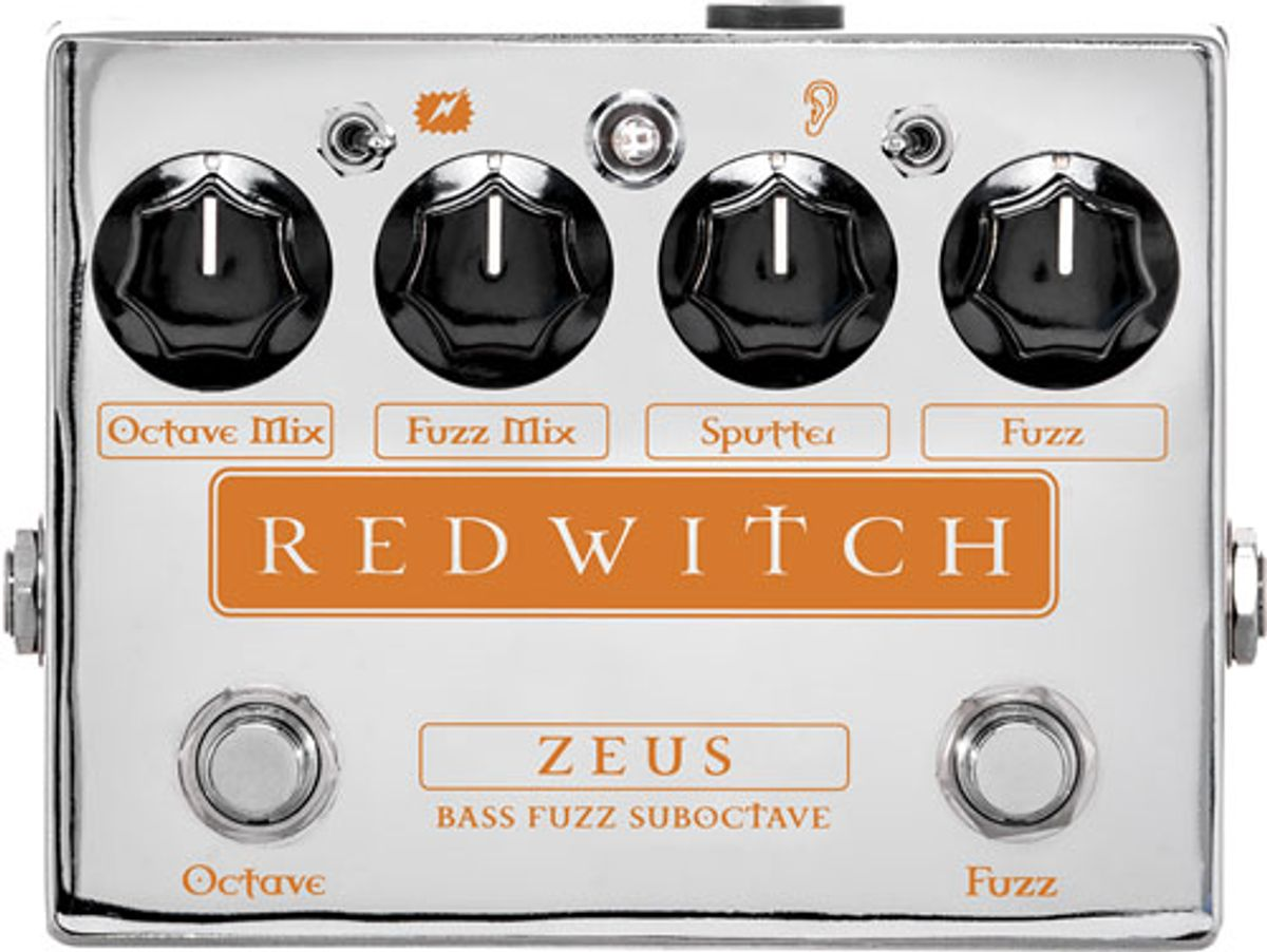 Red Witch Unveils the Zeus Bass Fuzz Suboctave