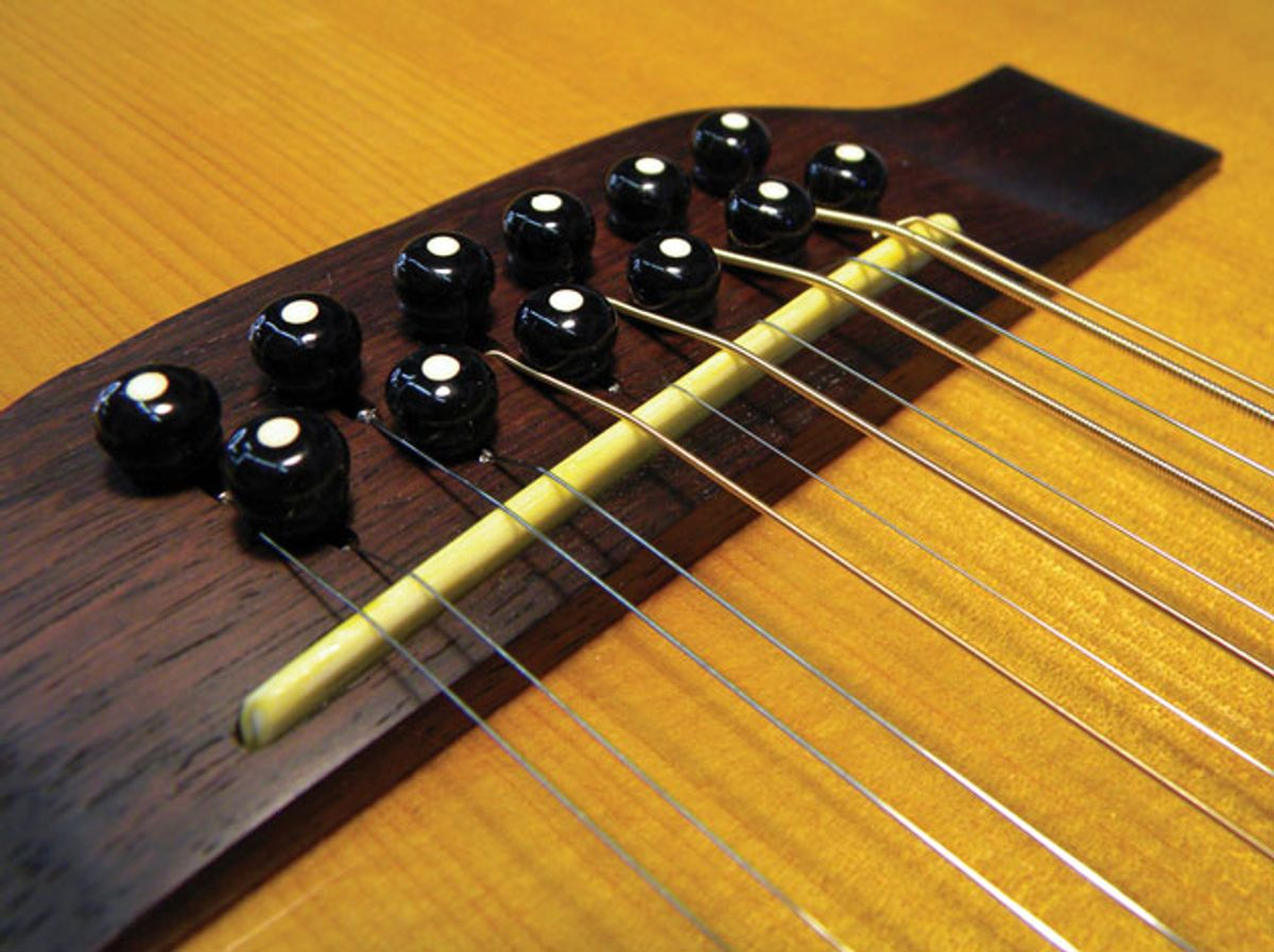 Guitar Shop 101: How to Intonate an Acoustic 12-String