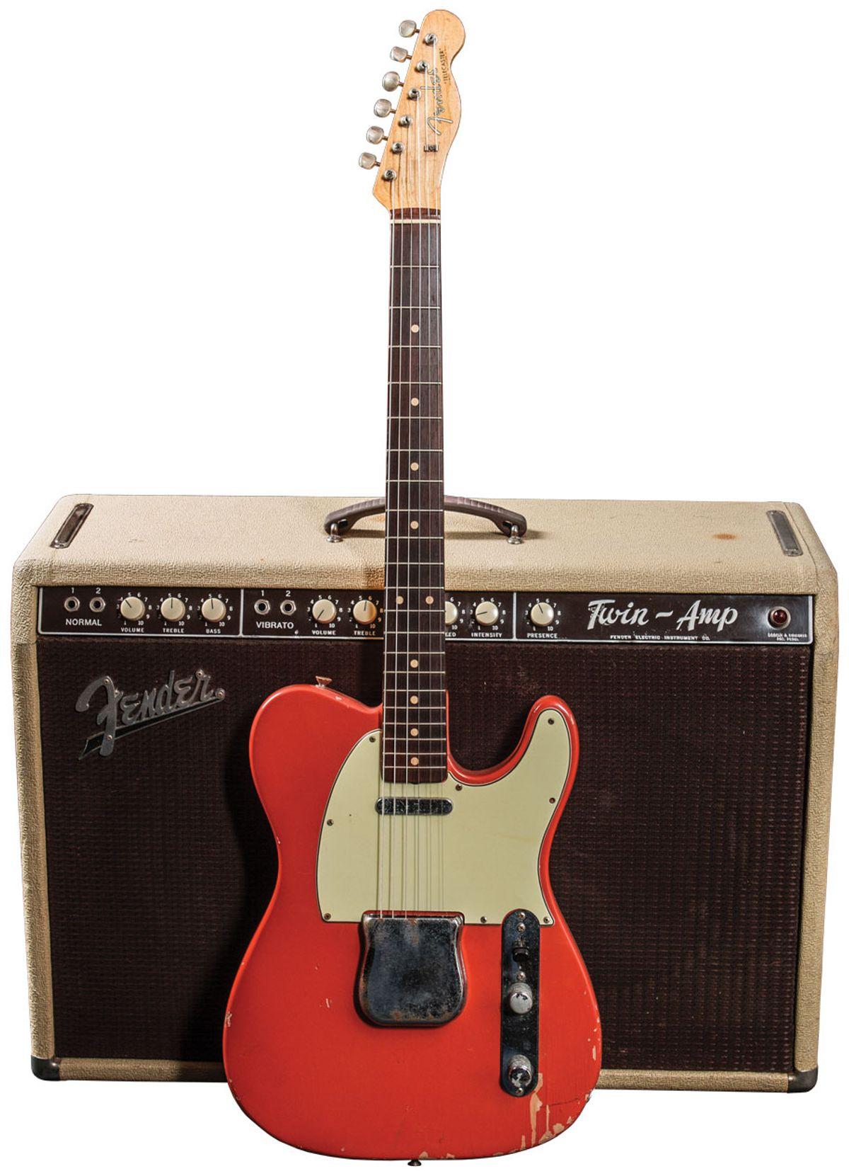 Vintage Vault: 1962 Fender Telecaster Fiesta Red