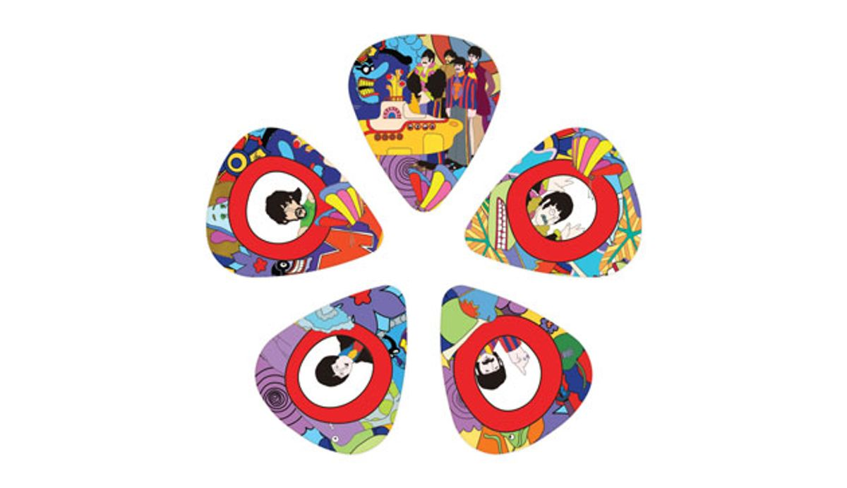 D'Addario Accessories Launches the Beatles Yellow Submarine 50th Anniversary Collection