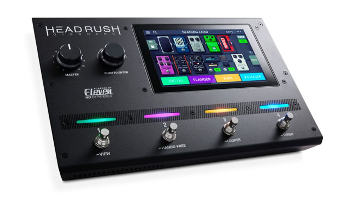 HeadRush Introduces the Gigboard