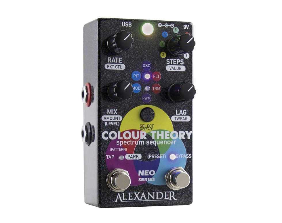 Alexander Pedals Colour Theory Review