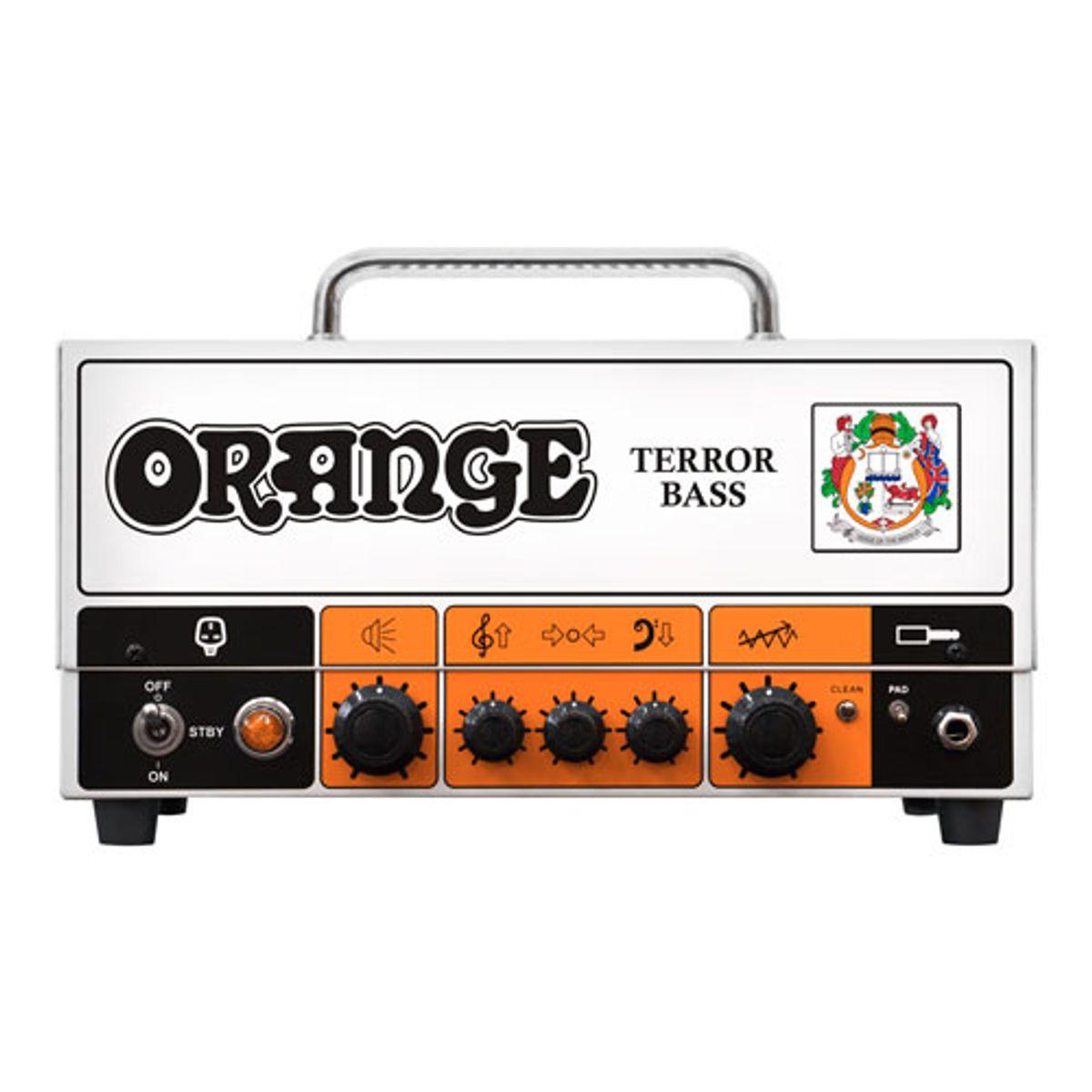 Orange Introduces the Terror Bass