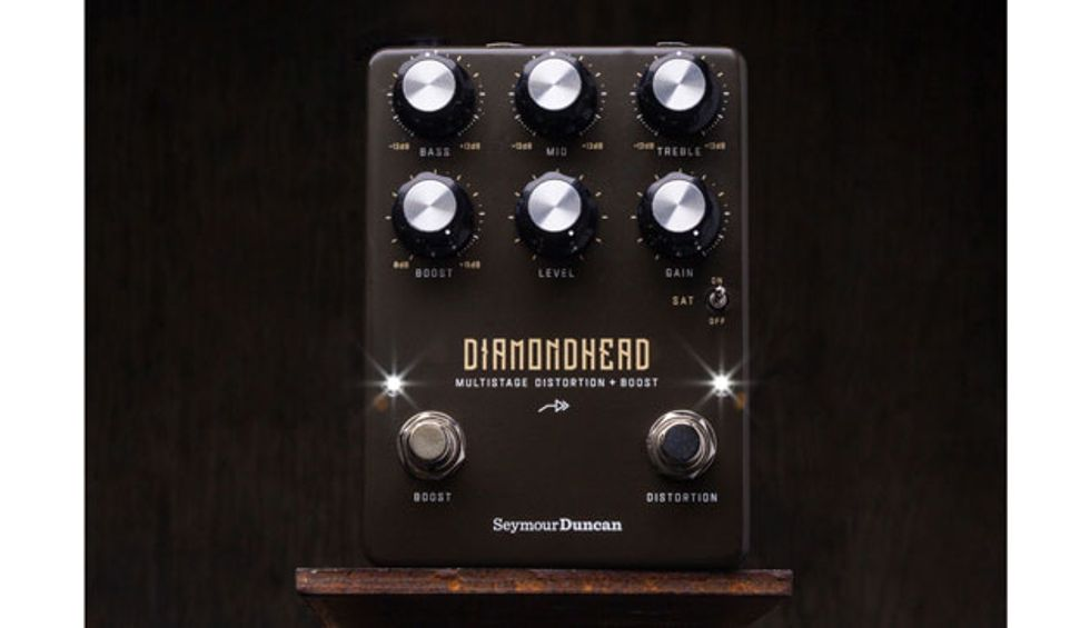 Seymour Duncan Announces the Diamondhead