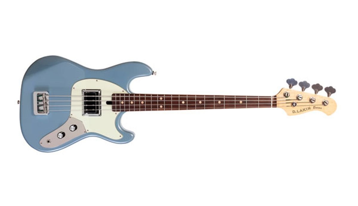 Dan Lakin Launches New Line of Electric Basses