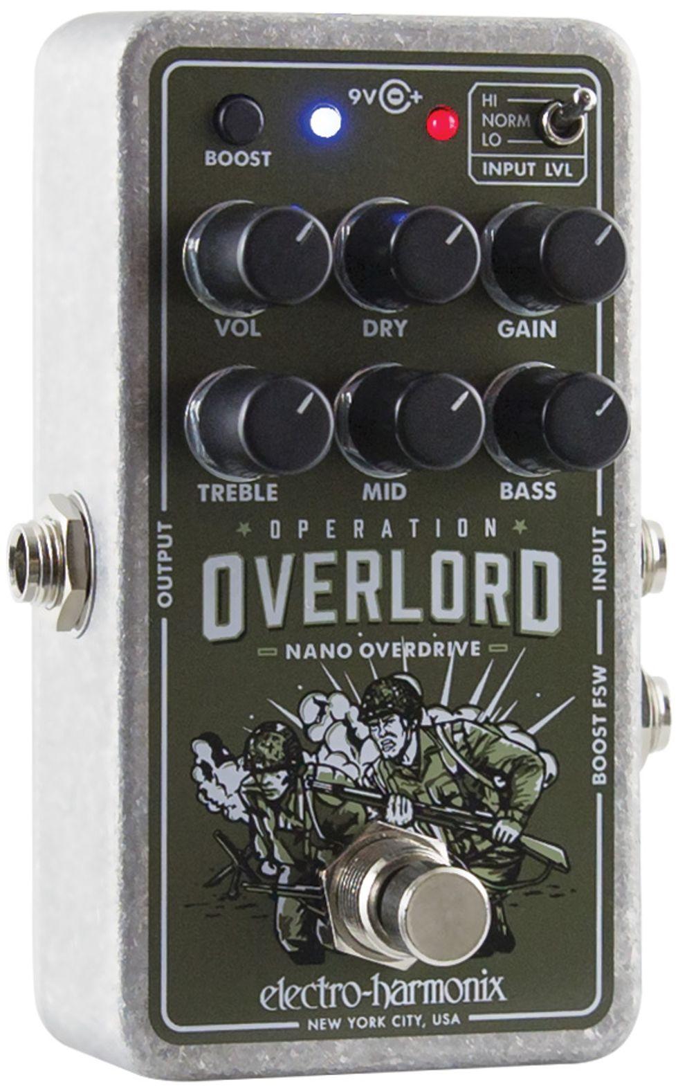 Quick Hit: Electro-Harmonix Nano Operation Overlord Review