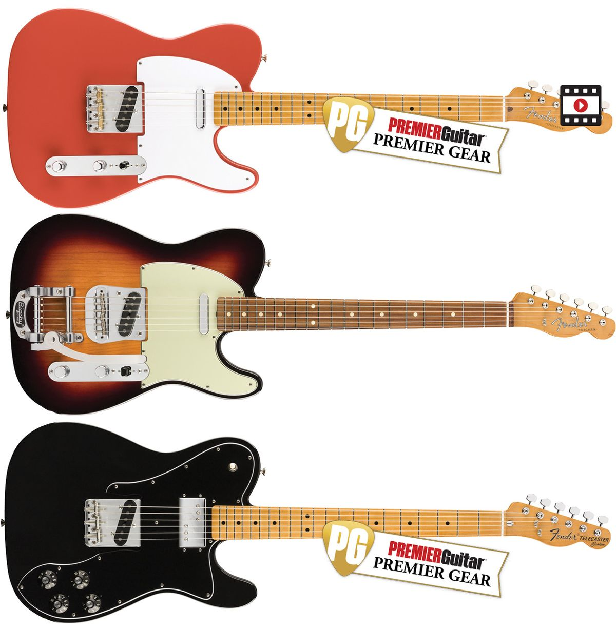 Fender Vintera '50s, '60s, and '70s Custom Telecasters Review
