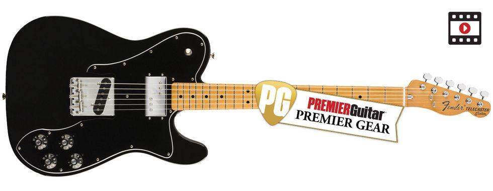 fender vintera 50s 60s and 70s custom telecasters review premier guitar. Black Bedroom Furniture Sets. Home Design Ideas