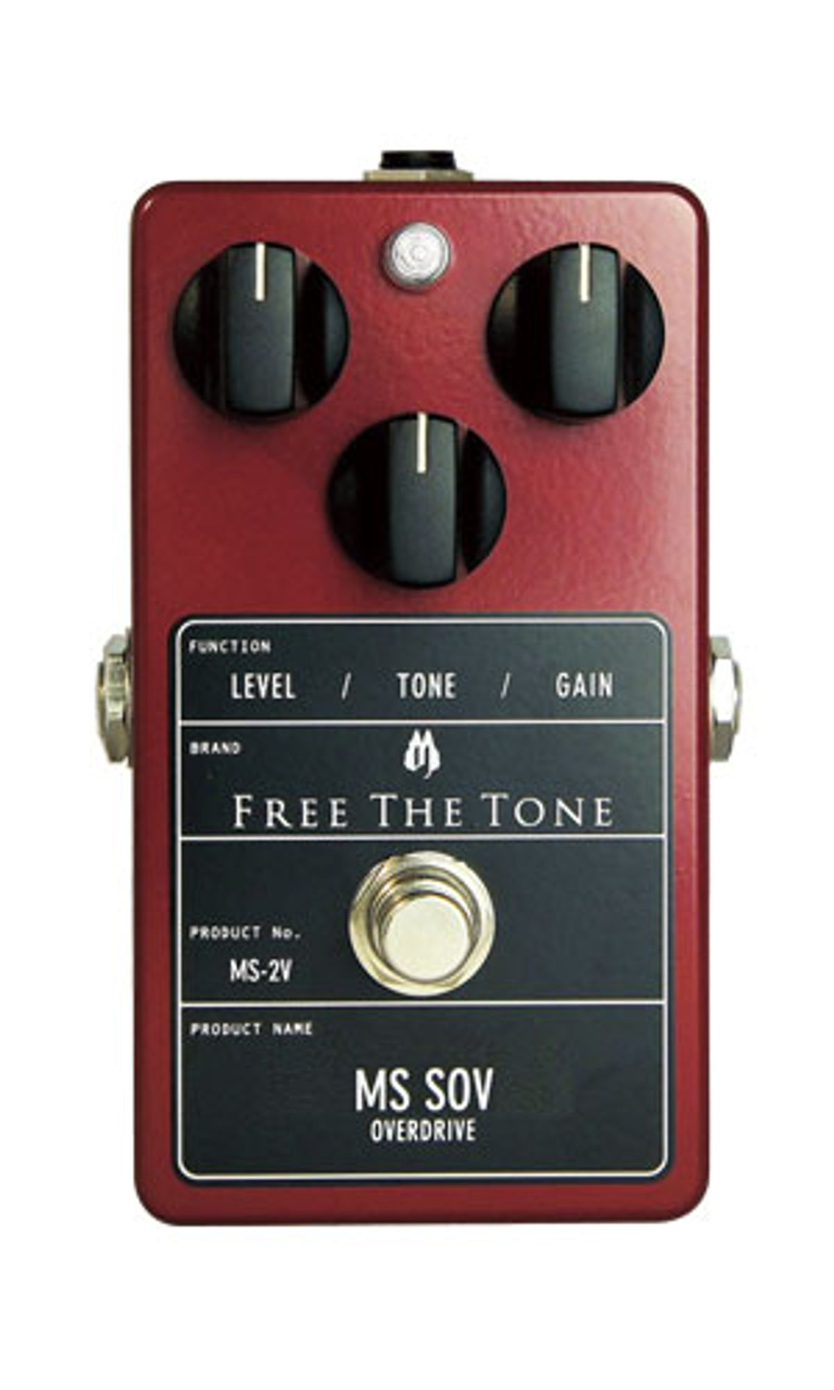 Free The Tone Releases the MS SOV Overdrive