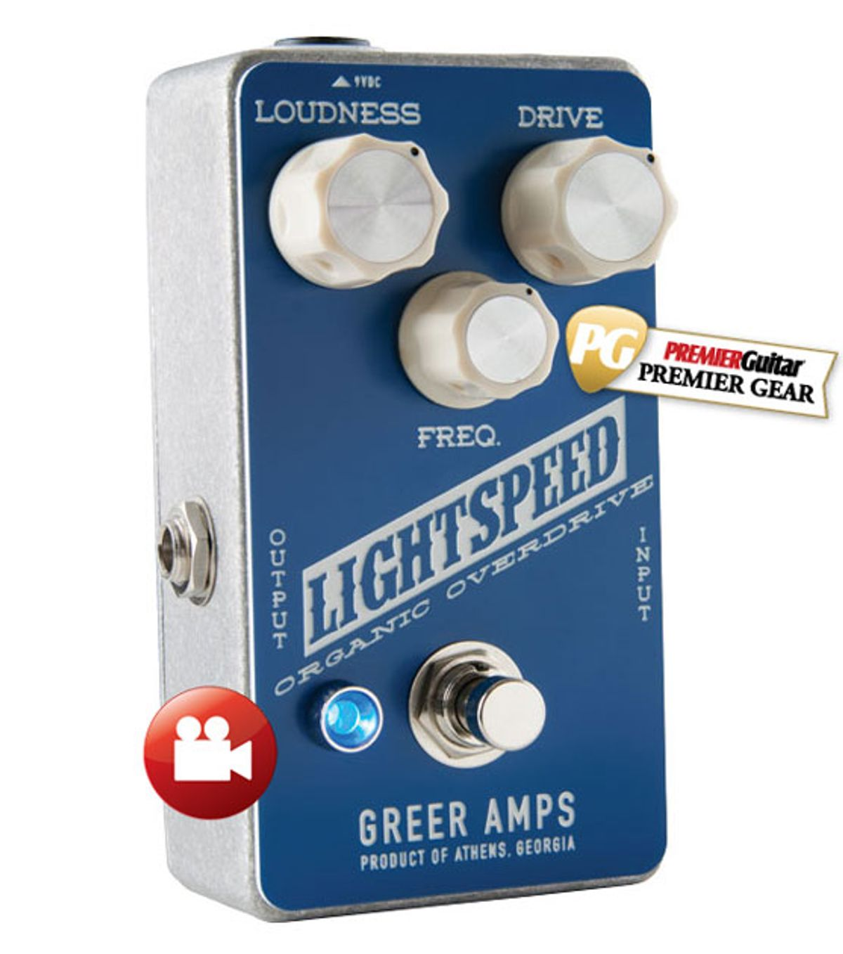 Greer Amps Lightspeed Organic Overdrive Review