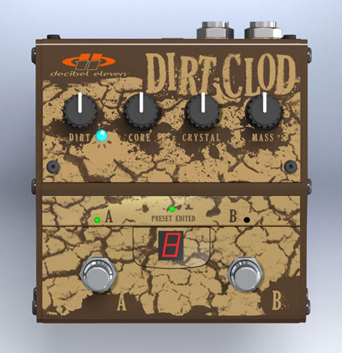 Decibel Eleven Announces the Dirt Clod Overdrive