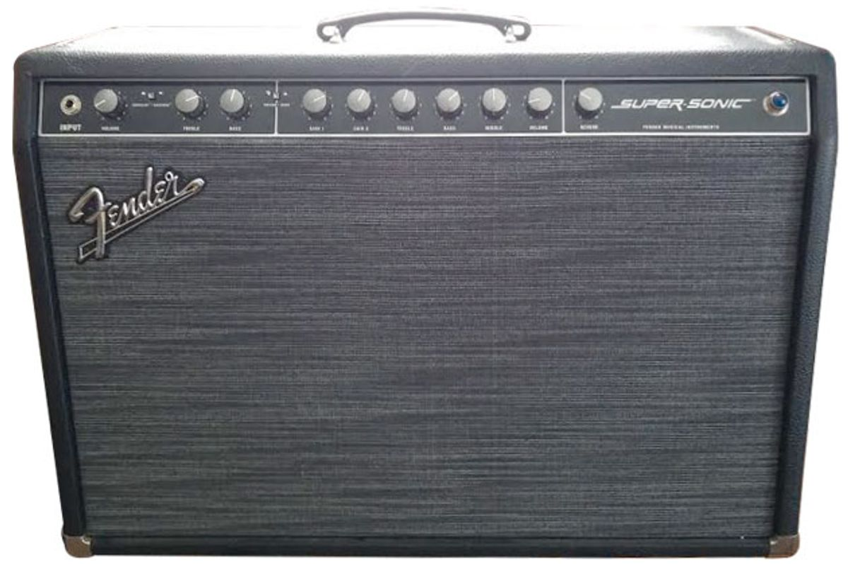 Ask Amp Man: Modifying an Early Fender Super-Sonic 60