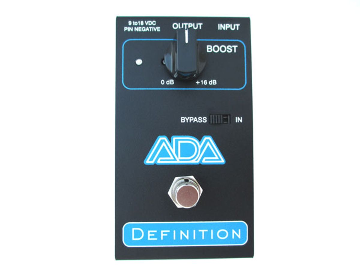 ADA Unveils the Definition Preamp