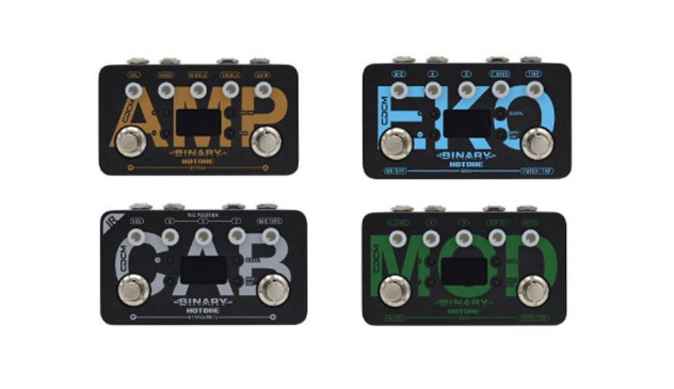 Hotone Launches Binary Series Effects