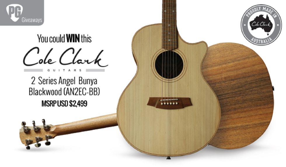 PG Giveaways: Cole Clark 2 Series Angel Bunya Blackwood