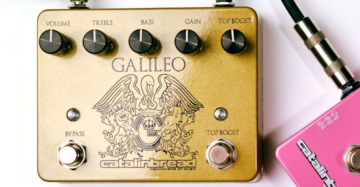 Catalinbread Introduces the Galileo Pedal