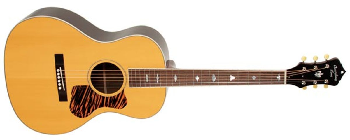 Recording King Introduces the New Greenwich Village Guitar
