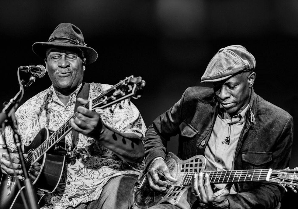 Taj Mahal And Keb Mo Team Up Premier Guitar