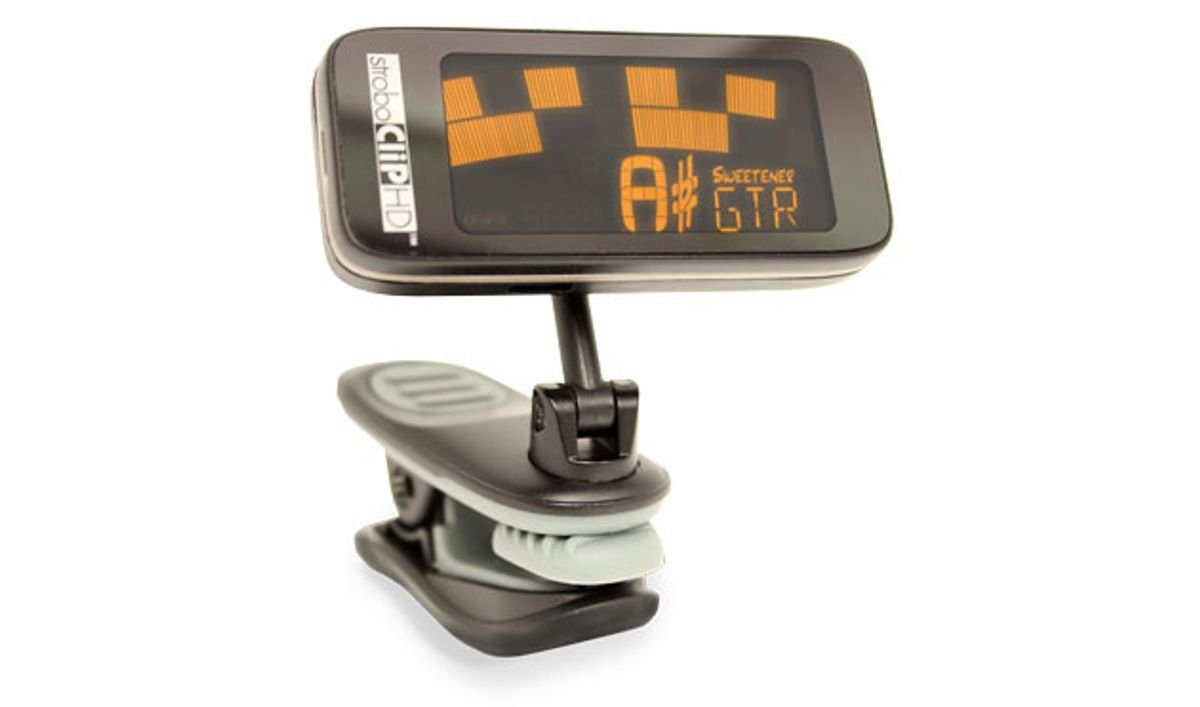 Peterson Tuners Upgrades the StroboClip HD