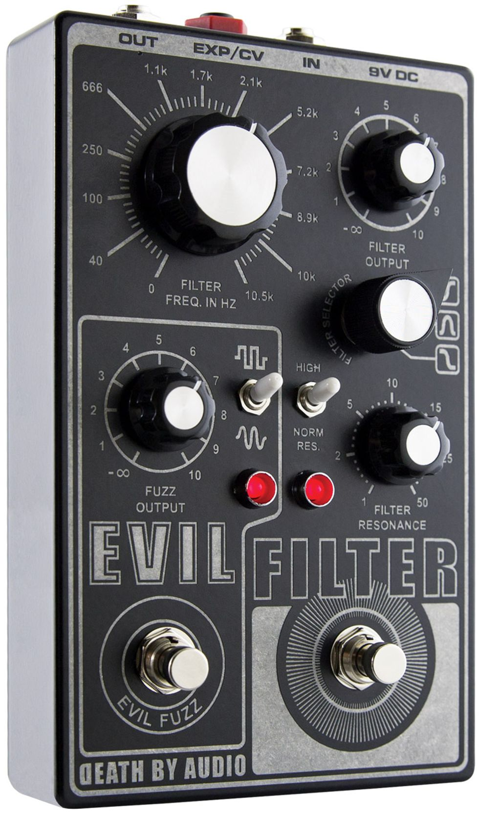 NEW PERFECT CIRCUIT Death By Audio Evil Filter Pedal EFFECTS
