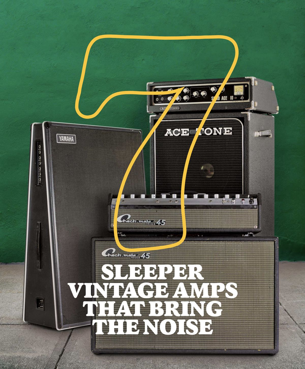 7 Sleeper Vintage Amps That Bring the Noise