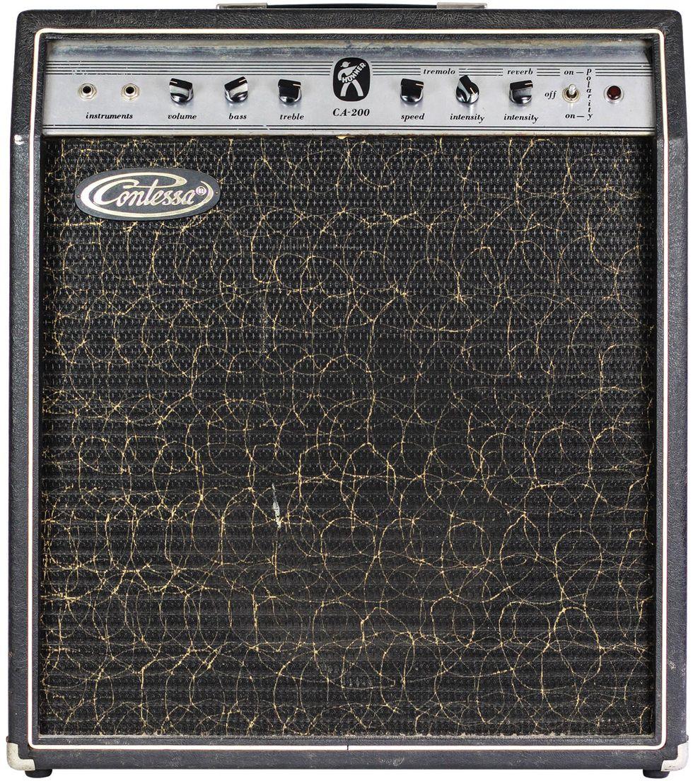 7 vintage sleeper amps that bring the noise premier guitar. Black Bedroom Furniture Sets. Home Design Ideas