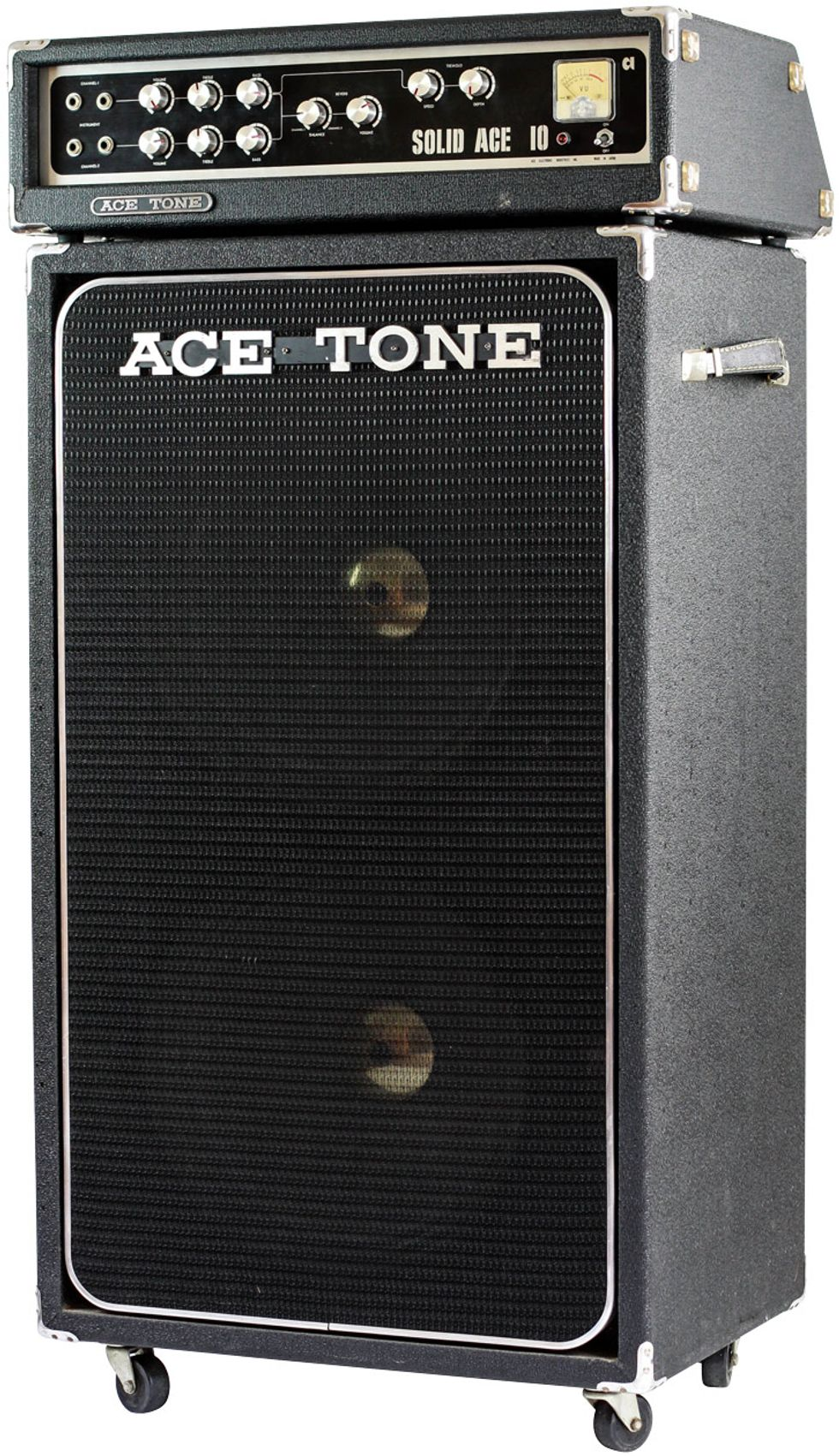 7 Vintage Sleeper Amps That Bring The Noise Premier Guitar Vu Meter For Power Amplifiers Flagship Amp With About 100 Watts On Tap And Came In Several Cabinet Configurationsall As Heavy They Sounded One Quirk A Built To
