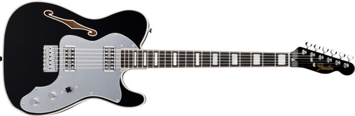 Fender Introduces the Telecaster Thinline Super Deluxe
