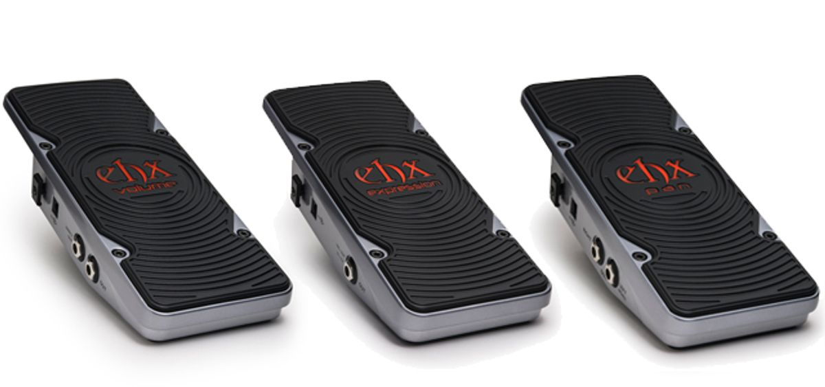Electro-Harmonix Introduces the Volume, Pan, and Expression Pedals to The Next Step Effects Line