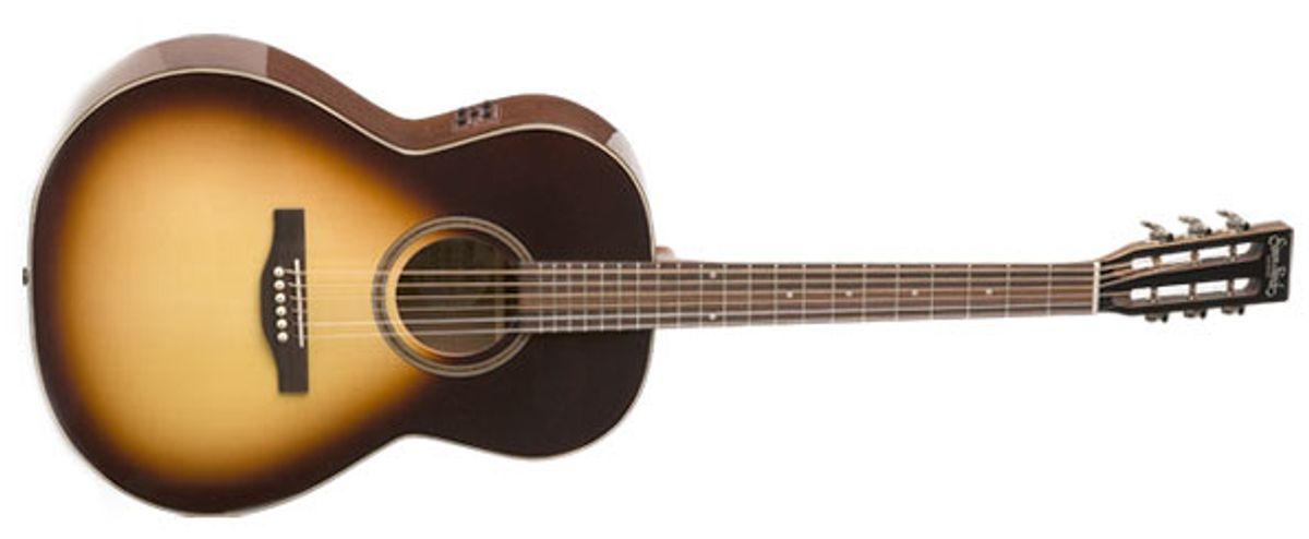 Simon & Patrick Woodland Pro Folk Sunburst Acoustic Guitar Review