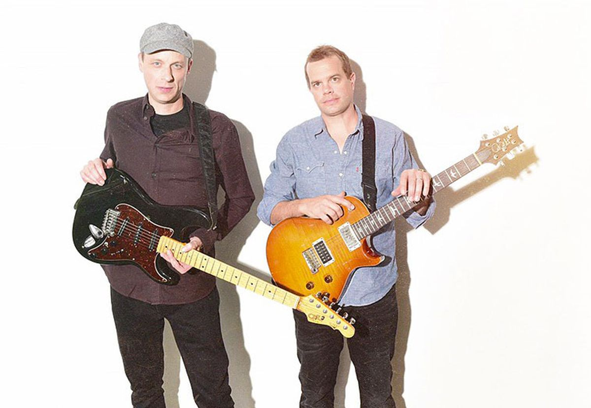 """Masters of """"Musical ADD"""": Umphrey's McGee's Brendan Bayliss and Jake Cinninger"""
