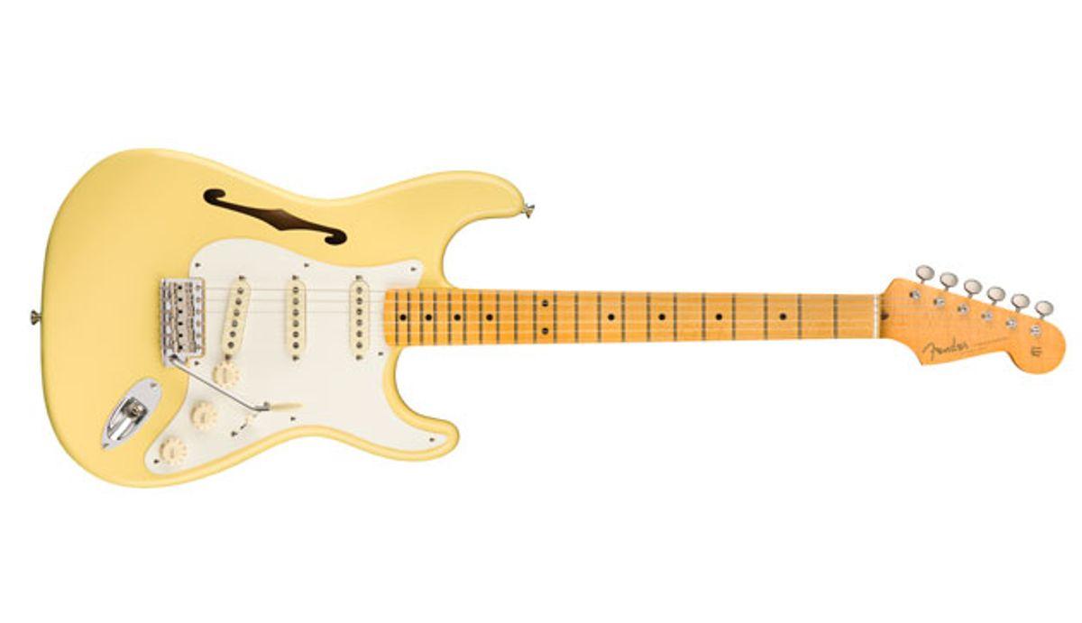Fender Introduces the Eric Johnson Signature Stratocaster Thinline