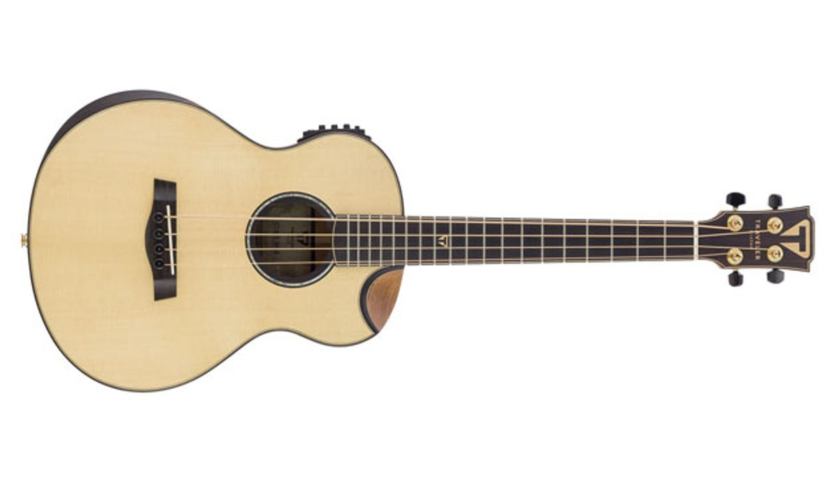 Traveler Guitars Unveils the CL-3BE Acoustic Bass