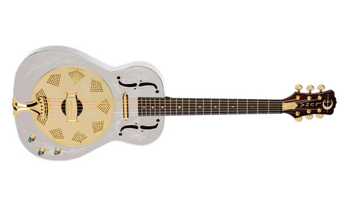 Luna Guitars Introduces the Steel Magnolia Resonator