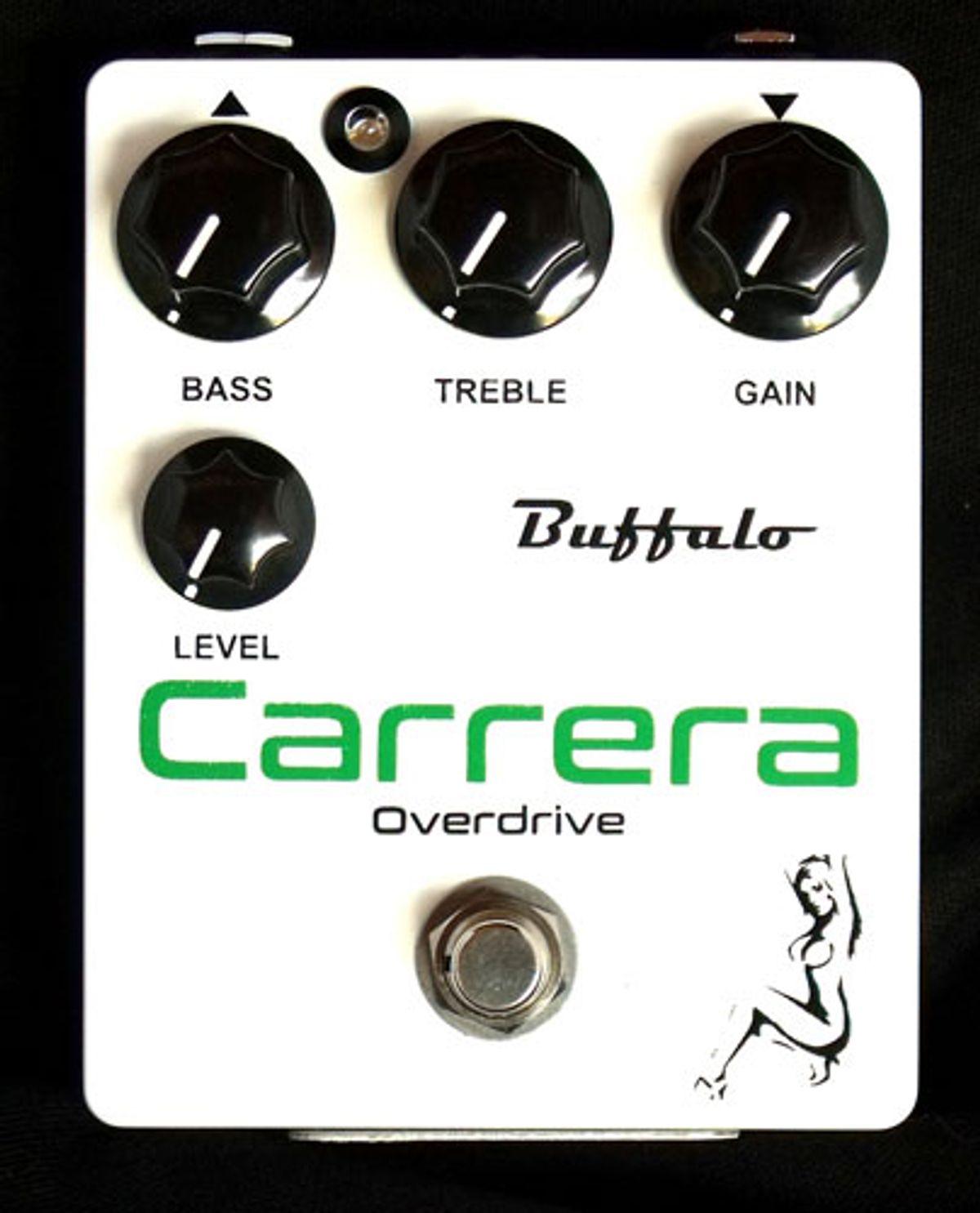 Buffalo FX Releases the Carrera Overdrive
