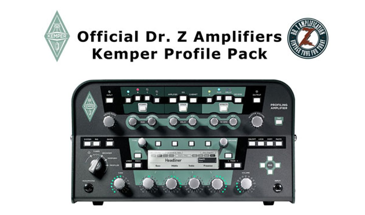 Dr. Z Amplification Releases Official Kemper Amp Profiles