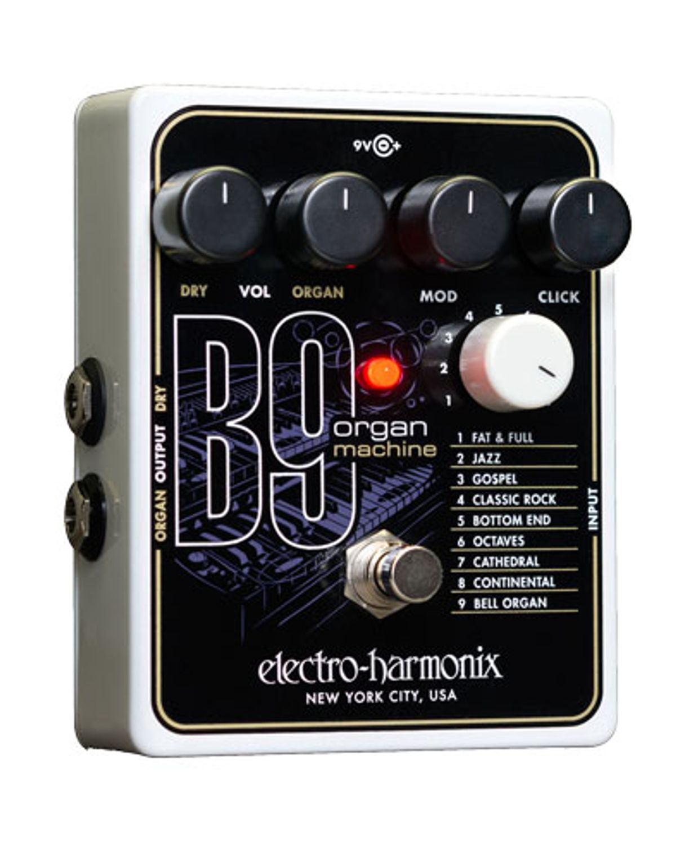 Electro-Harmonix Announces the B9 Organ Machine