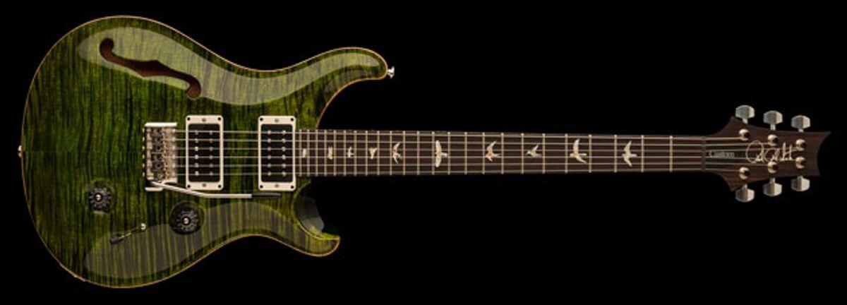 PRS Guitars Unveil the Custom 24 Semi-Hollow