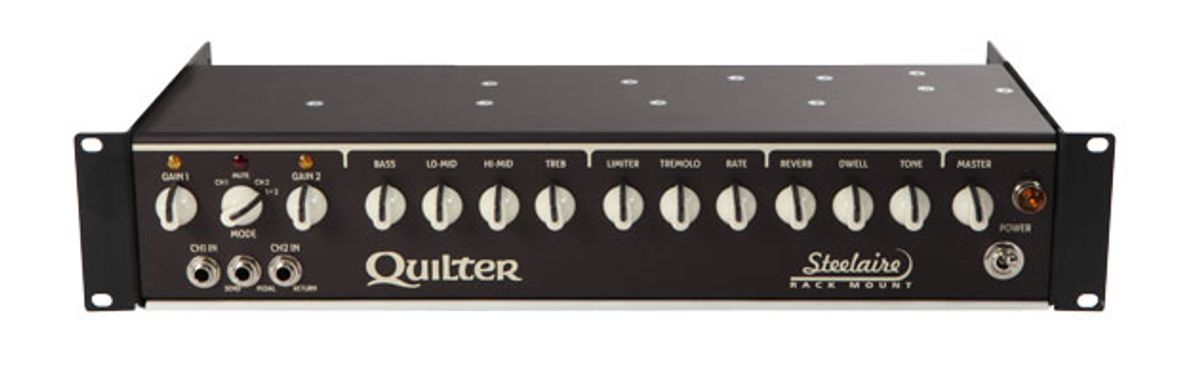 Quilter Amps Expand Steelaire Line