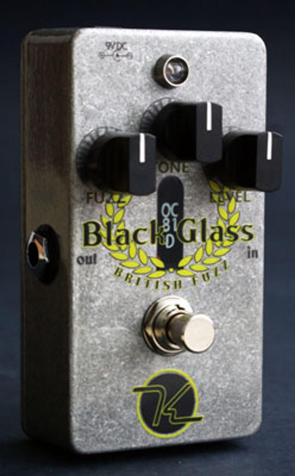 Keeley Electronics Announces Black Glass British Fuzz