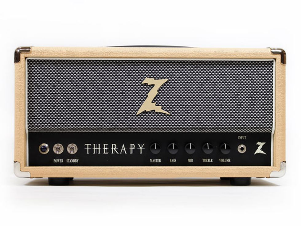 dr z amps introduces the therapy 2014 06 27 premier guitar. Black Bedroom Furniture Sets. Home Design Ideas