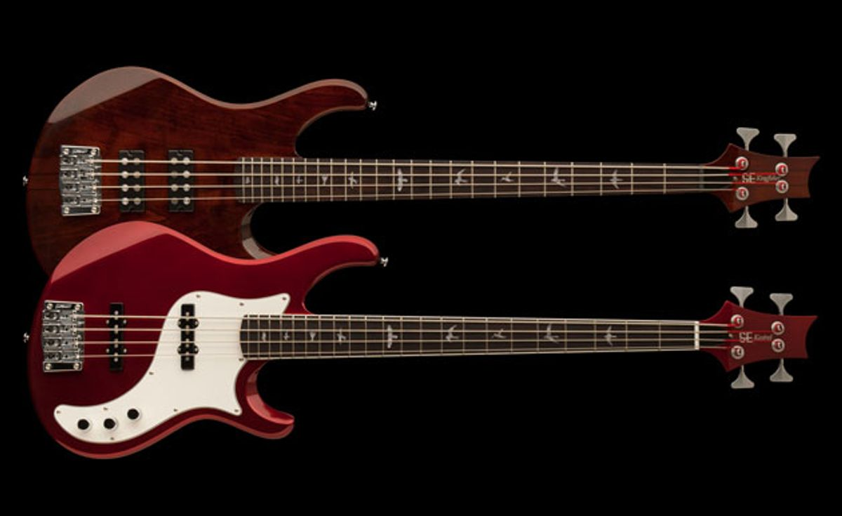 PRS Introduces the SE Kingfisher and SE Kestrel