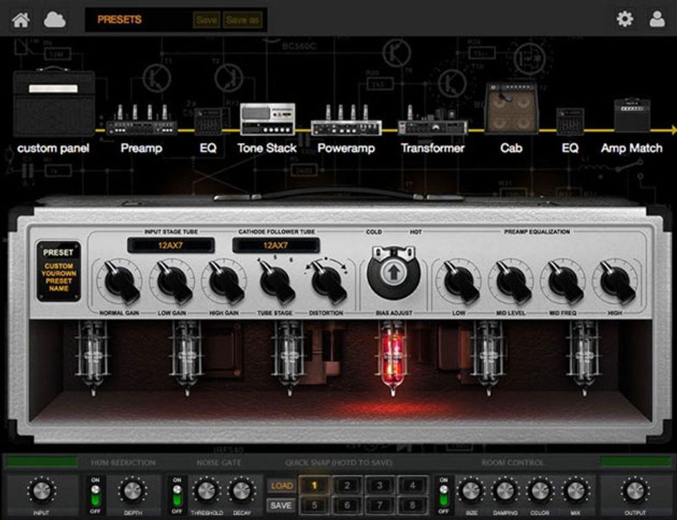 Positive Grid Announces Bias Desktop 2014 06 25