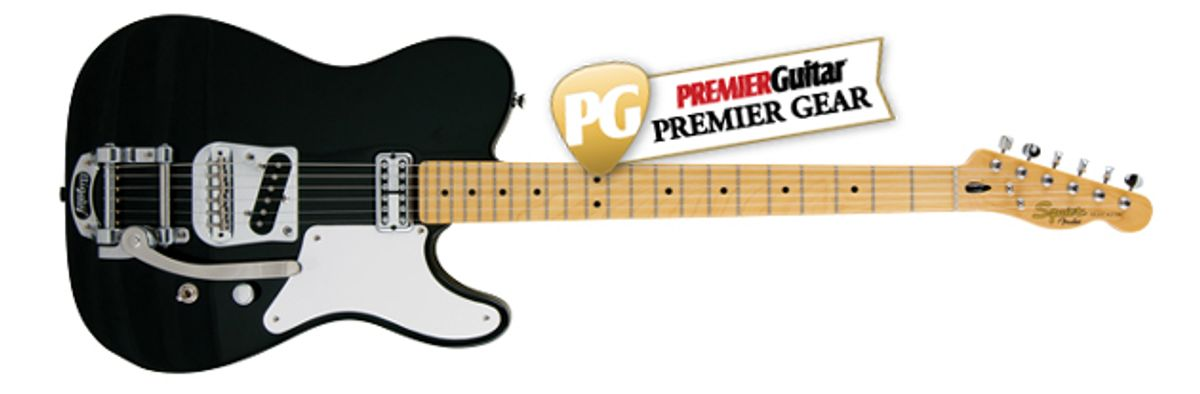 Squier Vintage Modified Cabronita Telecaster with Bigsby Review