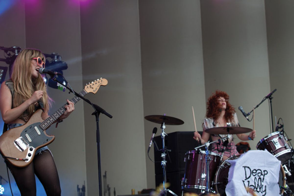 Deap Vally: Down with the Fuzz